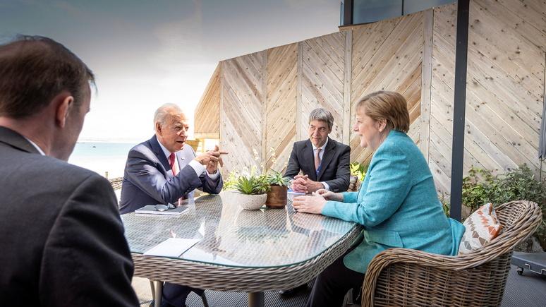 RND: во время визита в США Меркель ожидает «прощальный ужин»