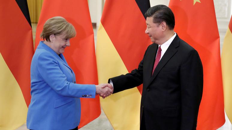Bild: «провальная» и «наивная» — близкий советник Меркель дал оценку её политике в отношении Китая