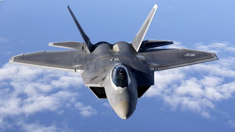 CNN: сигнал в адрес Китая — США отправят большую группу истребителей F-22 в Тихоокеанский регион
