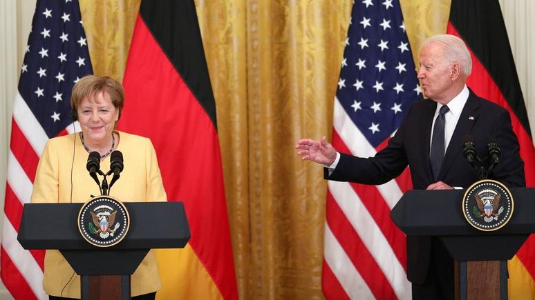 Bild: «Я буду по вам скучать» — Байден назвал канцлерство Меркель историческим