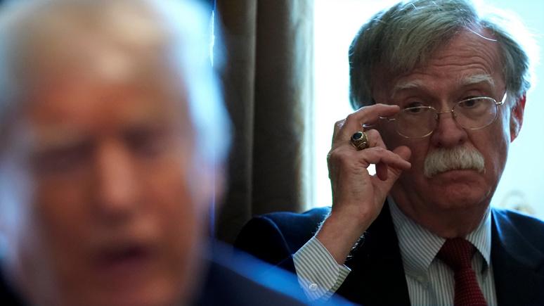 Hill: Болтон заявил, что Трампу для организации госпереворота не доставало умения «думать наперёд»