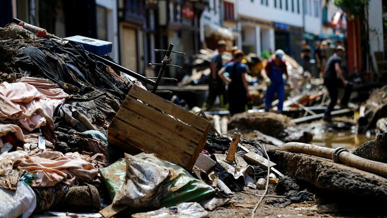 SZ: катастрофическое наводнение обойдётся немецким страховщикам в миллиарды евро