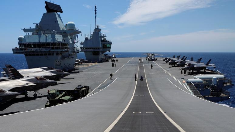 Министр обороны Великобритании перед учениями в Филиппинском море: Китаю не удастся нас запугать