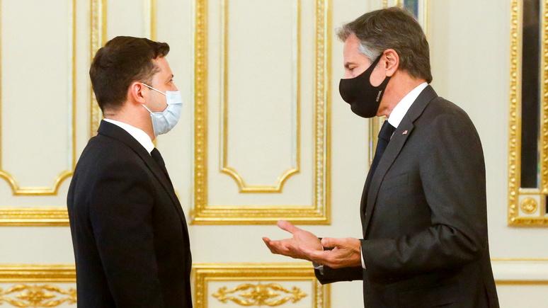Politico: администрация Байдена призвала Украину «помолчать» о «Северном потоке — 2»