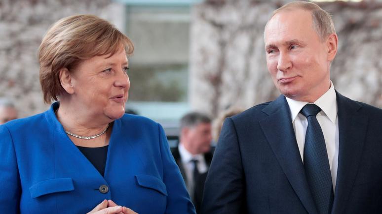 Welt о сделке США и Германии по «Северному потоку — 2»: Меркель сделала Путину прощальный подарок