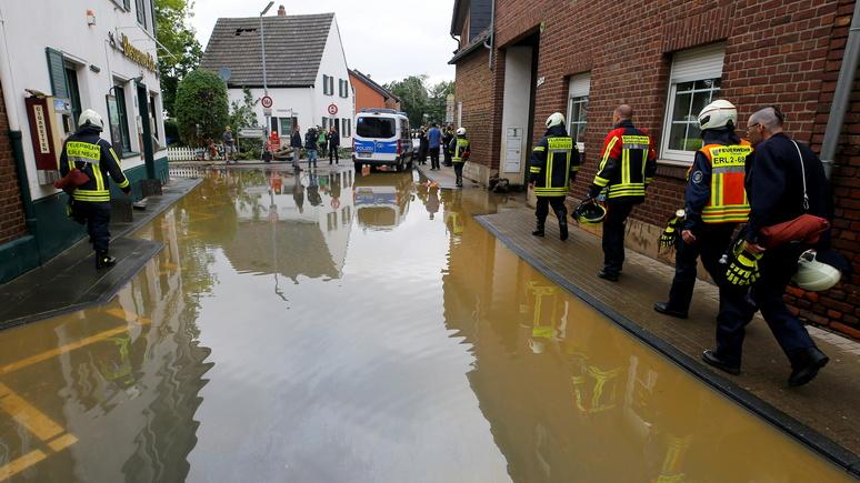Das Erste: во время наводнения в Германии система предупреждения не везде работала эффективно