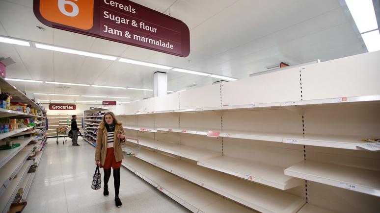 Die Welt: «пингдемия» в Великобритании приводит к перебоям в работе супермаркетов, коммунальных служб и полиции