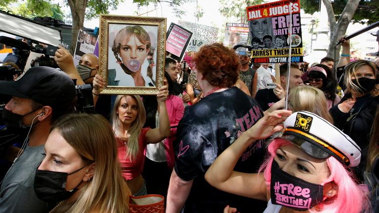 «Свободу Бритни» — Le Monde рассказала, как борьба за права поп-звезды объединила Америку