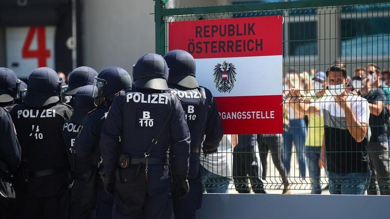 N-TV: Австрия усиливает охрану на границе, потому что ЕС не справляется с беженцами