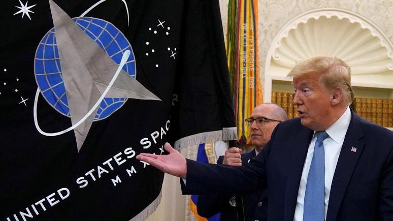 SRF: военная конкуренция между странами превращает космос в новый Дикий Запад