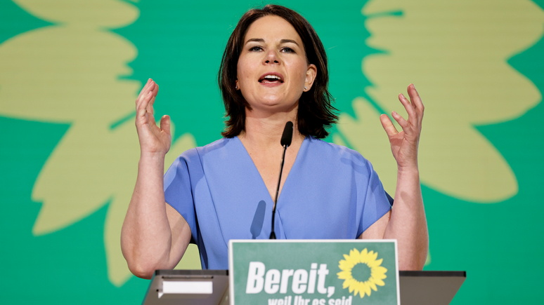 Bild: кандидат в канцлеры ФРГ от зелёных намерена бороться за гендерную нейтральность в языке