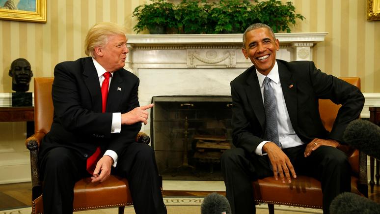 Express: Трампу и Обаме предложили «воссоединить» Америку за $5 млн