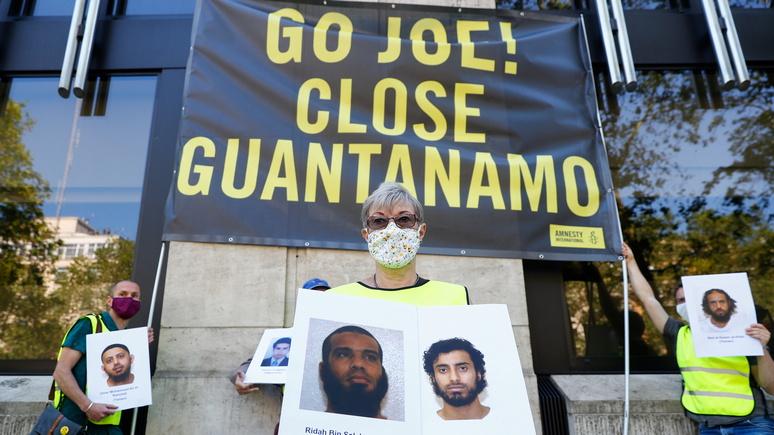 Hill: «предательство наших ценностей» — конгрессмены США призвали Байдена закрыть Гуантанамо «раз и навсегда»