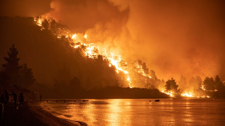 SZ: от Сибири до Калифорнии — лесные пожары бушуют по всему миру