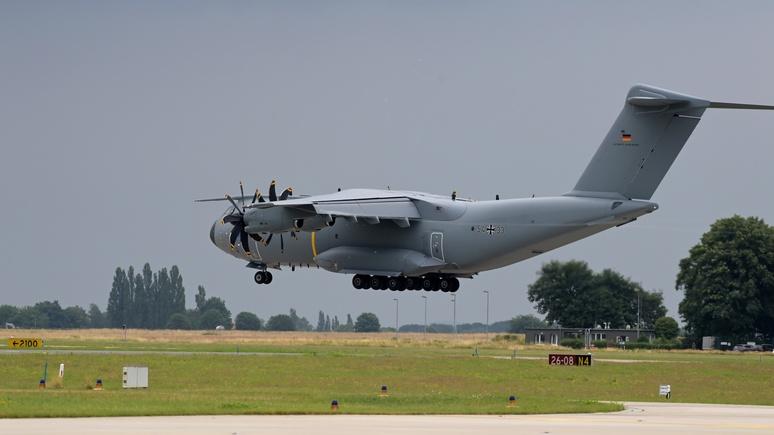 Bild: первый самолёт бундесвера эвакуировал из Кабула только семь человек