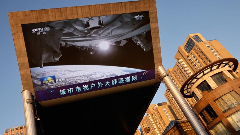 Times: Китай изучит перспективу строительства на орбите космического корабля длиной 1 км