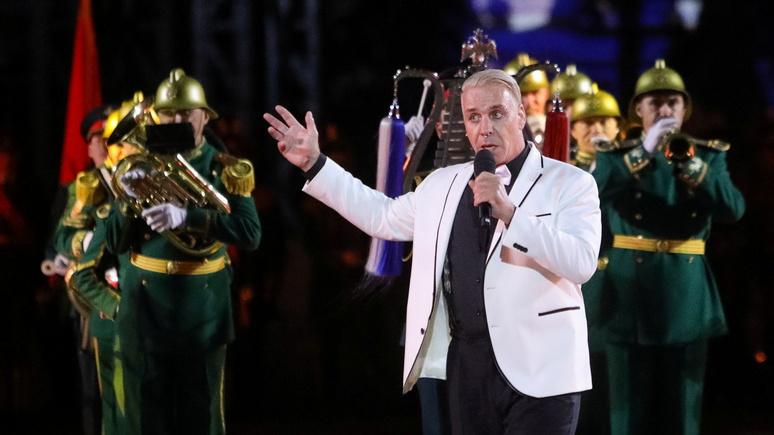 «Впал в немилость Кремля» — в проблемах лидера Rammstein в России MDR увидел политическую подоплёку