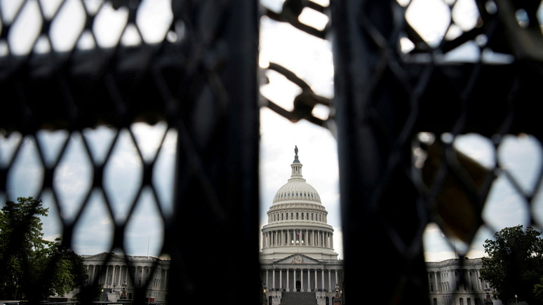 FAZ: в Вашингтоне восстановят ограду вокруг Капитолия в преддверии нового митинга