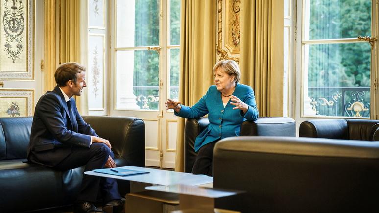 FAZ: раньше Франция опасалась сильной Германии, теперь — слабой