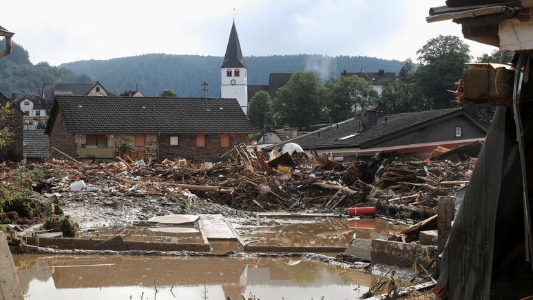Bild: «устойчивость и эффективность» — самодовольство властей Германии звучит как издёвка над жертвами наводнений