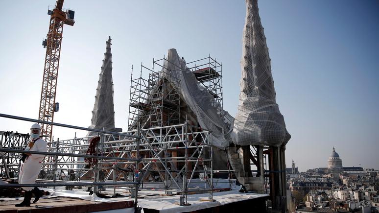 Le Figaro: можно приступать к реставрации — в Нотр-Даме закончились работы по укреплению и безопасности