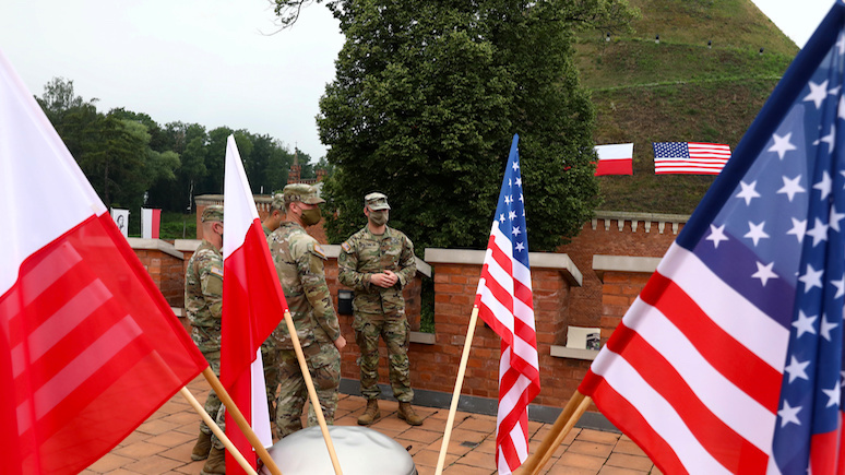 Rzeczpospolita: без США за спиной Польша потеряет свою привлекательность на международной арене