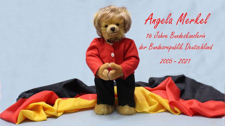 WP: уход Меркель вдохновил немцев на выпуск коллекционных плюшевых мишек
