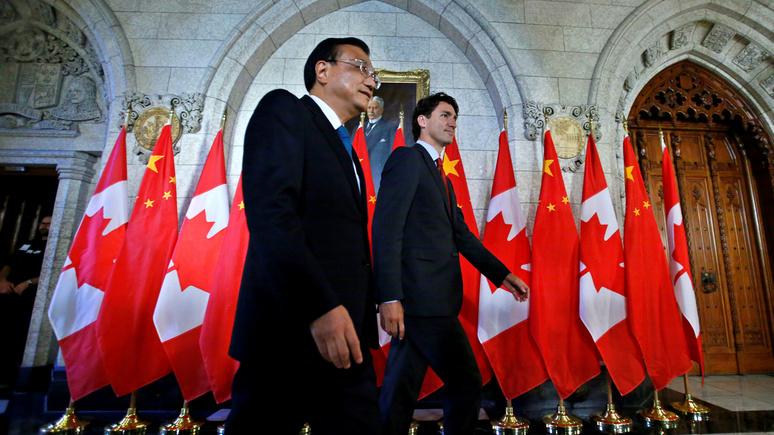 Le Figaro: оставшейся за бортом трёхстороннего союза Канаде придётся противостоять Китаю в одиночку