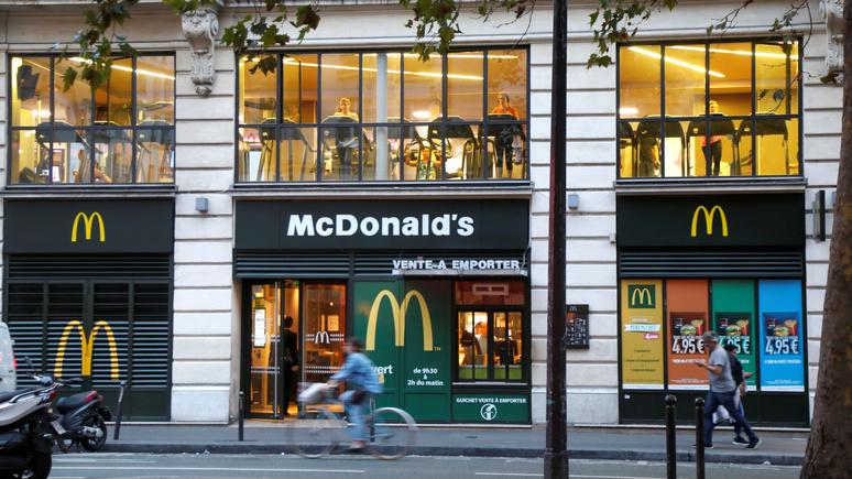 Le Monde: во Франции «Макдональдс» обвинили в скрытой рекламе у детей-инфлюэнсеров