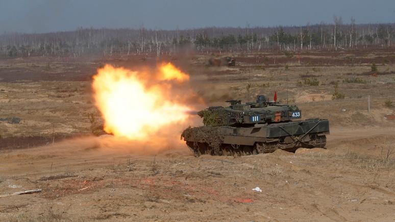 Deutschlandfunk: пять стран выступили с инициативой о создании европейских войск быстрого реагирования