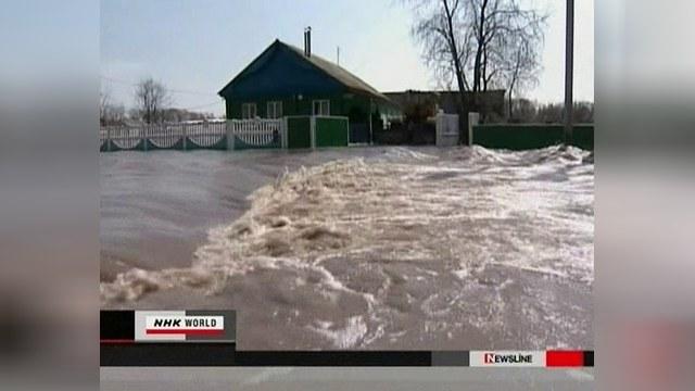 Россия страдает от весенних паводков