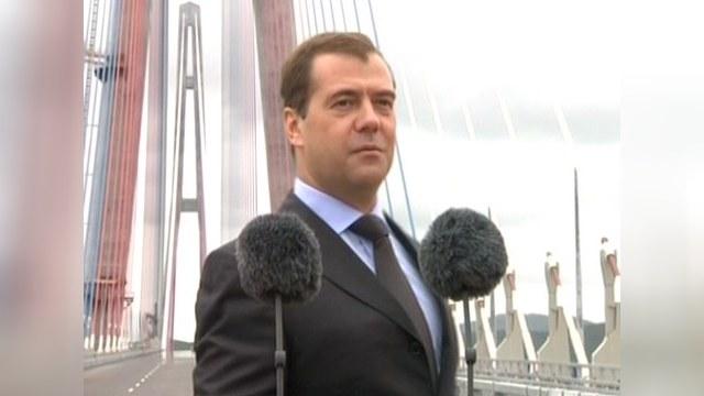 Медведев: Владивосток стал лучше Сан-Франциско