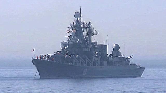 Российские боевые корабли – желанная мишень для сирийских повстанцев