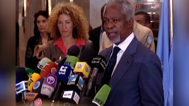 Россия подозревает, что от Аннана просто избавились