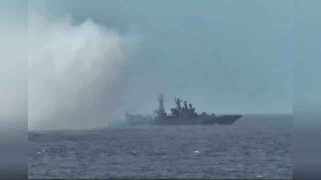 Россия и Индия завершают совместные военно-морские учения