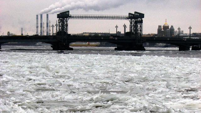 Без ледокола в Финском заливе не обойтись