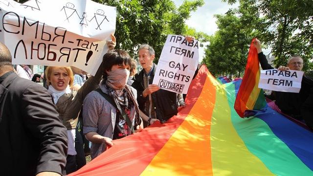 WSJ: 47% россиян считают, что геи должны быть гражданами второго сорта