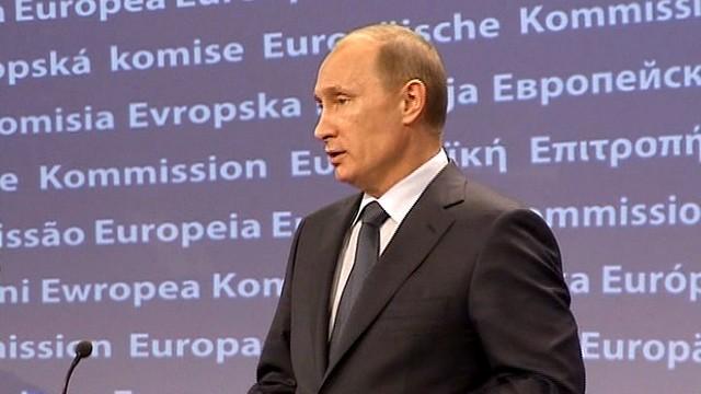 Путин: Жизнь не по средствам довела Европу до кризиса