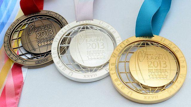 Казанские медали не прошли проверку на прочность