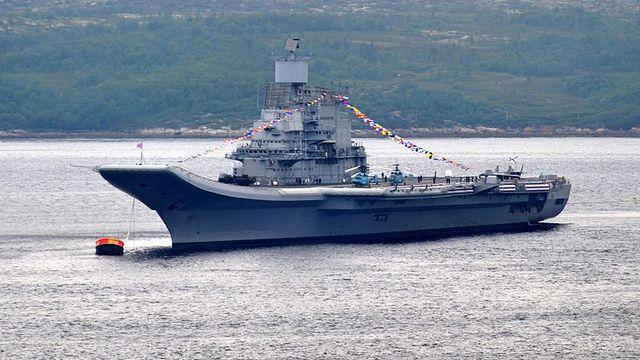 Авианосец «Викрамадитья» выдержал испытание скоростью