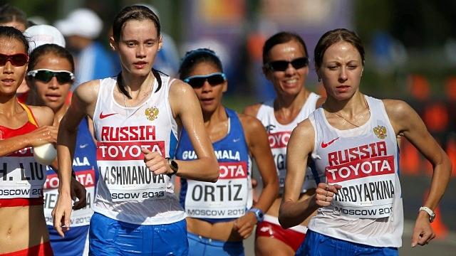 Россия выиграла общекомандный зачет ЧМ по легкой атлетике
