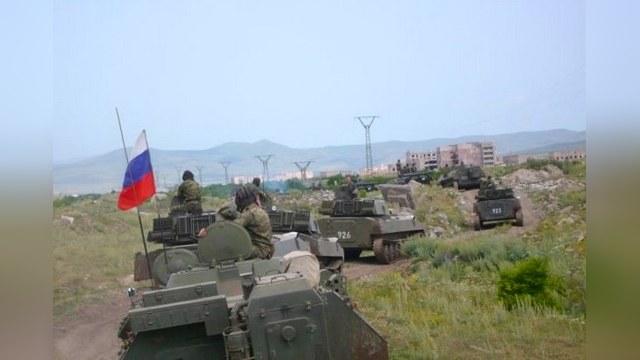 Россия укрепляет группировку в Армении
