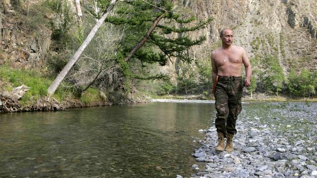 В торсе Путина увидели сильнейший пиар-ход