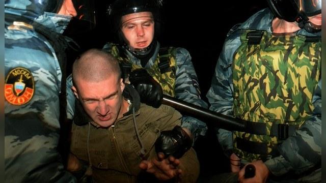 Сотни человек задержаны после беспорядков в Бирюлево