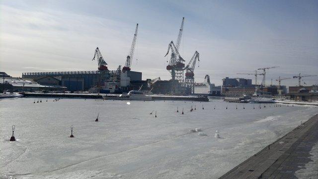 Россия станет единственным владельцем судоверфи в Хельсинки
