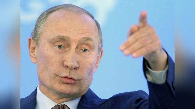 Путин показал Запад во всей красе