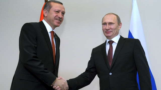 Эрдоган и Путин обменялись шутками про Евросоюз