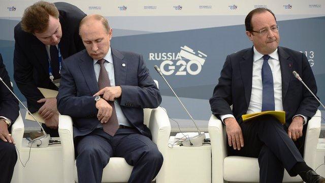 В привычке Путина опаздывать BBC увидел царские замашки