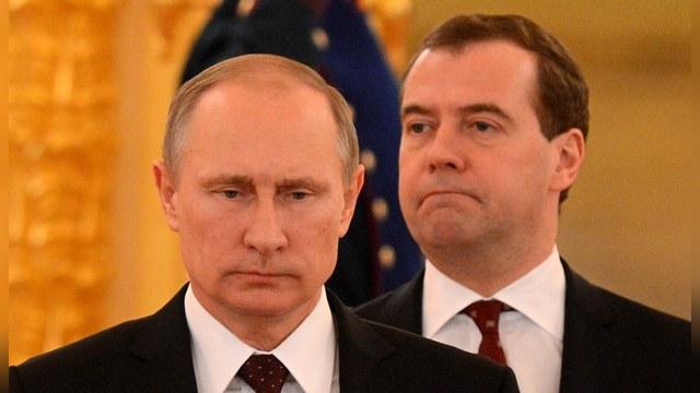 WT: Путин считает Медведева политиком второго сорта