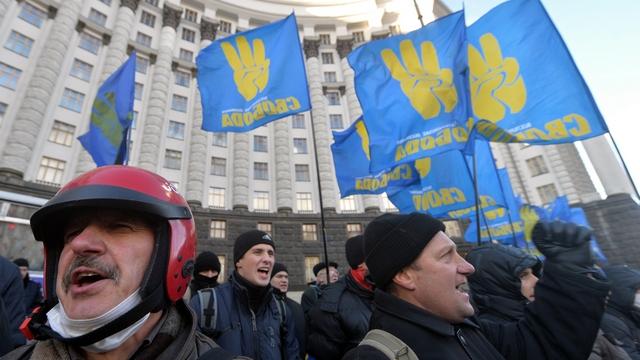 Der Bund не нашла «фашистов» на Майдане